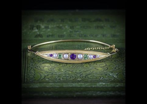 ANTIQUE_VICTORIAN_SUFFRAGETTE_BANGLE_AMETHYST_PEARL_PERIDOT_COVER_600x