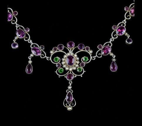 Victorian Suffragette Necklace Circa 1900